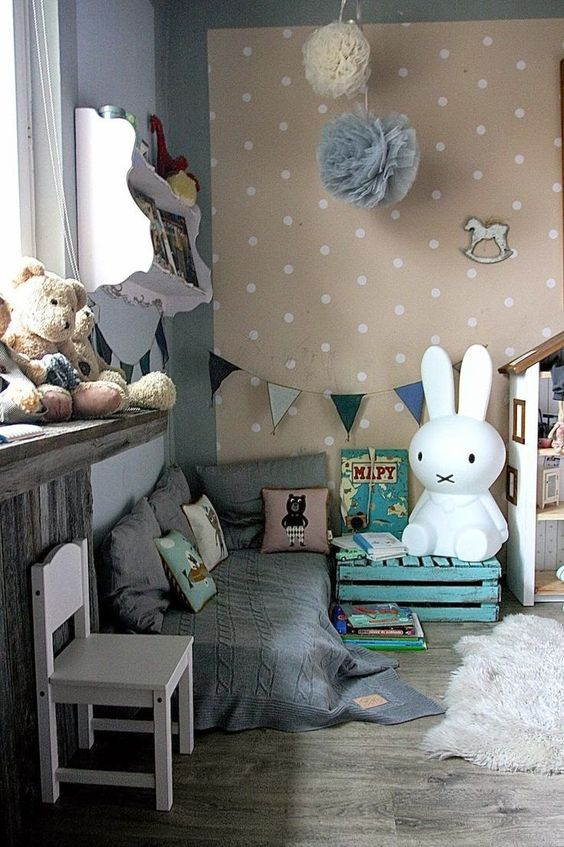 the boo and the boy: eclectic kids' rooms: