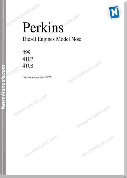 Perkins 4108 Workshop Manual Manual Workshop Electrical Diagram