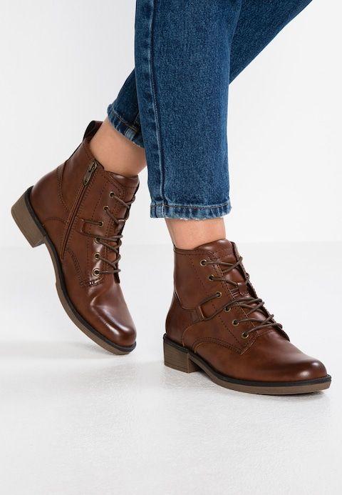 Ankle Boot cognac @ in 2020 | Winterstiefel