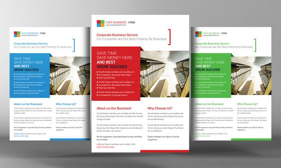Best Corporate Business Flyer by Business Templates on Creative - donation flyer template