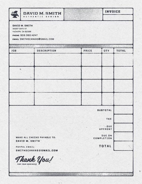 Invoice - Email Confirmation #coolest_bill_ever (slash, 2nd to - email invoices