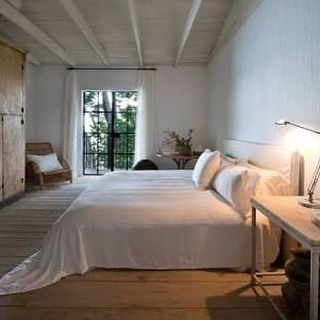 A bedroom as only Axel Vervoordt can create....