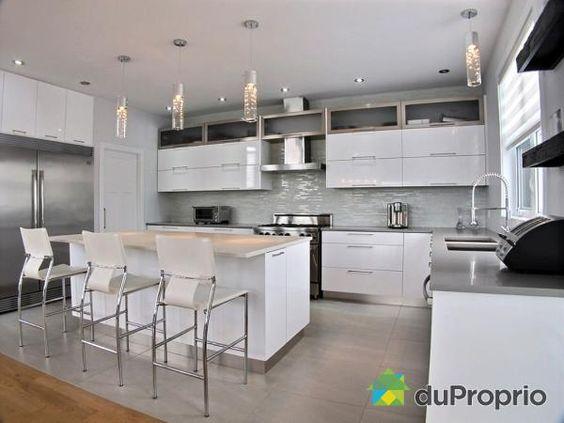 vous aimez les cuisines modernes maison a vendre st bruno de montarville - Modele De Cuisine A Vendre Annee 50