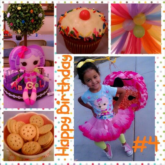The lalaloopsy party turned out perfect!