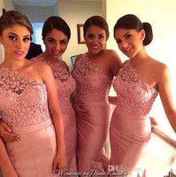 coral lace nigerian bridesmaid dress - Google Search