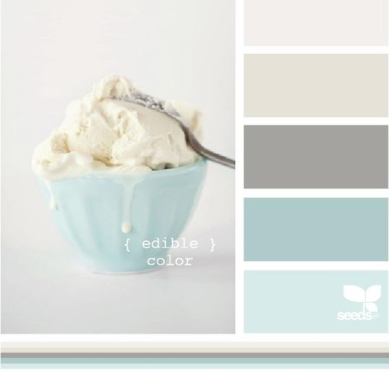 Harmonie Colorée, Turquoise+chocolat glaçé pastel Théme de Maki