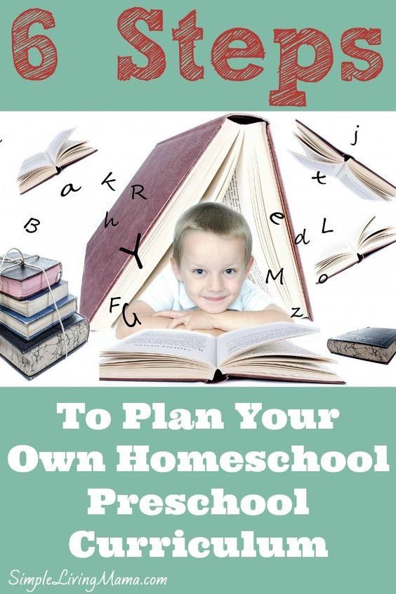 steps to learning preschool 6 steps to planning your own homeschool preschool 849