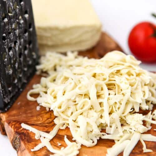 The Best Vegan Mozzarella Cheese Recipe Ever Rich And Creamy Cheese That Melts And Stretches Yo In 2020 Vegan Cheese Recipes Vegan Mozzarella Vegan Shredded Cheese