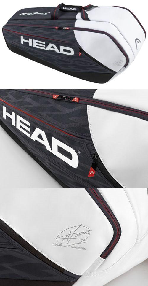 Bags 20869 Head Novak Djokovic Supercombi 9 Racquet Racket Tennis Bag Authorized Dealer Buy It Now Only 54 95 On Eba Tennis Bag Novak Djokovic Racquets