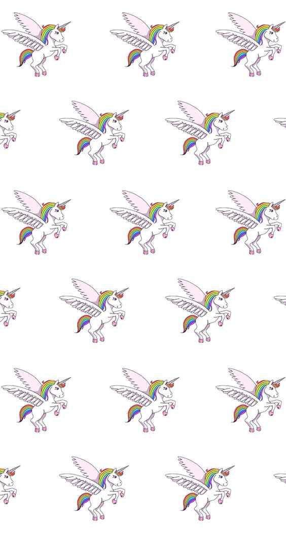 unicorn pattern � find more kawaii iphone android