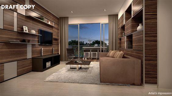 punggol 5 room living room design - Google Search