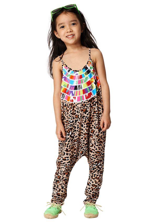 Mara Hoffman kids leopard jumper
