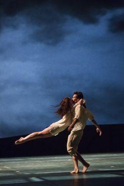 Nicolas Le Riche et Aurélie Dupont - Photo : Agathe Poupeney/Opéra de Paris