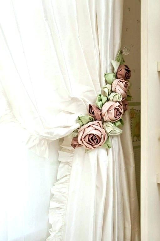 Shabby Chic Curtain Rods Lance Curtains White Shower Next Pole