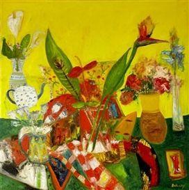 John Bellamy still life painting.