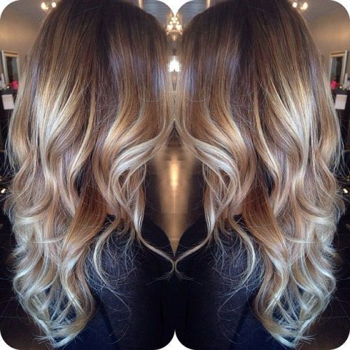 90 balayage hair color ideas with blonde brown and caramel highlights highlights braunes. Black Bedroom Furniture Sets. Home Design Ideas