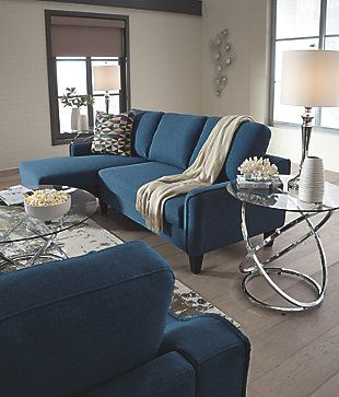 Jarreau Sofa Chaise Sleeper Blue Large Chaise Sofa Living Room Chaise Sofa Sectional Sofa Couch
