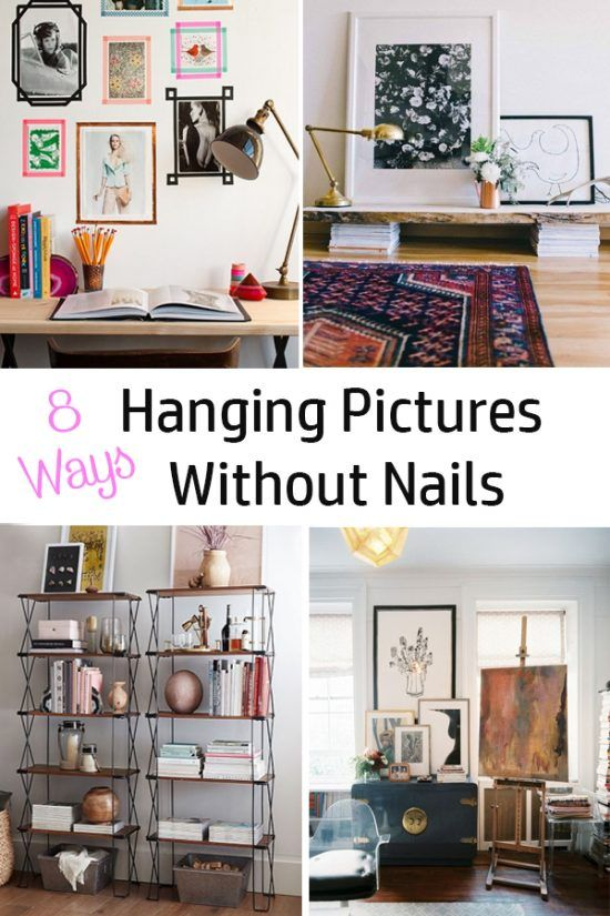 Hanging Pictures Without Nails 8 Ways Hanging Pictures Without