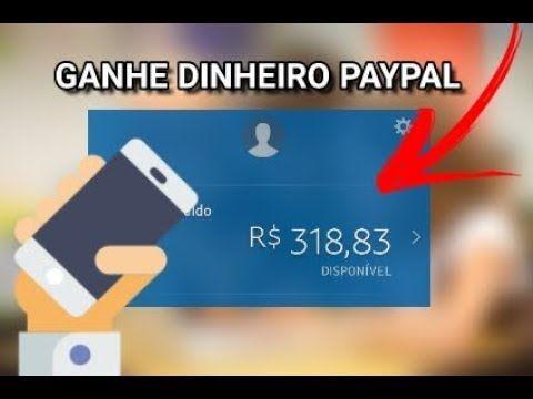 Lancamento Novo Aplicativo Para Ganhar Dinheiro No Paypal