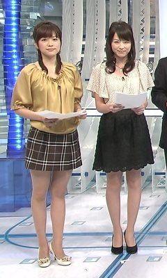 本田朋子すぽるとミニスカートで出演中