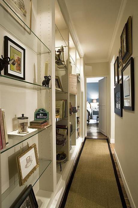 Hallway Bookshelf Ideas: