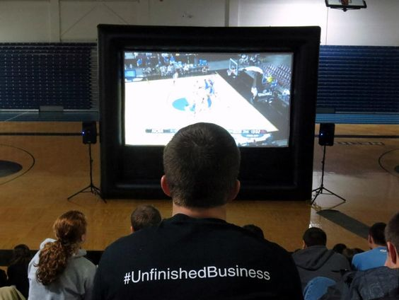 Watching the women's basketball game as they progress in the finals.  #UnfinishedBusiness, soon turned to #FinishedBusiness!