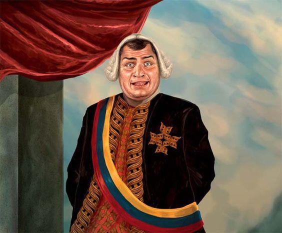 La revista Peruana Dedo Medio, de sátira política, llama Déspota Ilustrado al presidente ecuatoriano Rafael Correa y le dedica la portada.RAFAEL CORREA: EL DÉSPOTA ILUSTRADO - DedoMedio.com