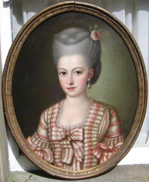 Portrait of a Lady, circa 1775, French school