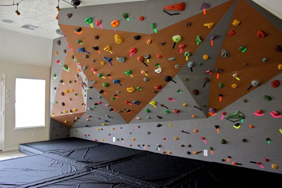 Home climbing wall                                                                                                                                                      More