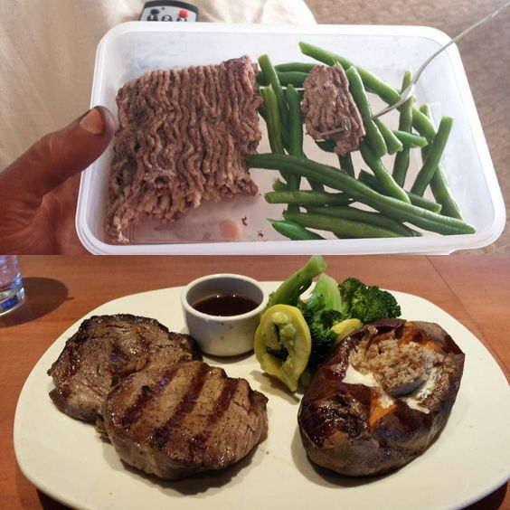 Top before #prejudging #leanbeef #greenbeans bottom afterwards #outback #primerib #steak #sweetpotato trying to fill out for finals wanting to get that #bodybuilding overall. #npcnatural #npccompetitor #npc #batamweight #npcnaturalcapitolclassic #mensphysique #iifym #nodaysoff #persontrainer #intermittentfasting #carbbackloading #carbcycling #showday #wanttowin #trophy #fasted #shredded #workhard by rylandthms