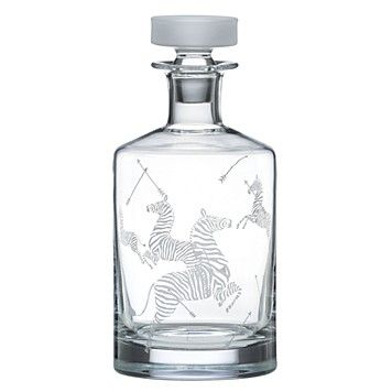 Scalamandre Decanter by Lenox