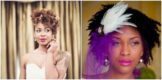 Pocket: Penteados para noivas negras 2016: criatividade TOTAL!