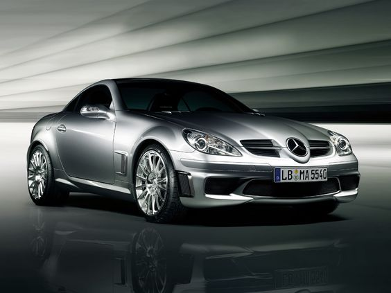 Mercedes SLK55. This is a WANT
