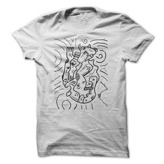 Psychedelic Animals - #maxi tee #hoodie and jeans. LOWEST SHIPPING => https://www.sunfrog.com/Drinking/Psychedelic-Animals.html?68278
