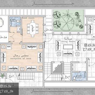 المدينة المنورة مخططات الرياض مخطط الشرقية فلل فيلا كروكي بيت مكة منزل منزلي جازان ابها ا Home Design Floor Plans Basement House Plans House Map