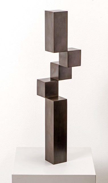 Stephan Siebers Balanced Cubes 2011 Artsy Metal Art Sculpture Welding Art Steel Art