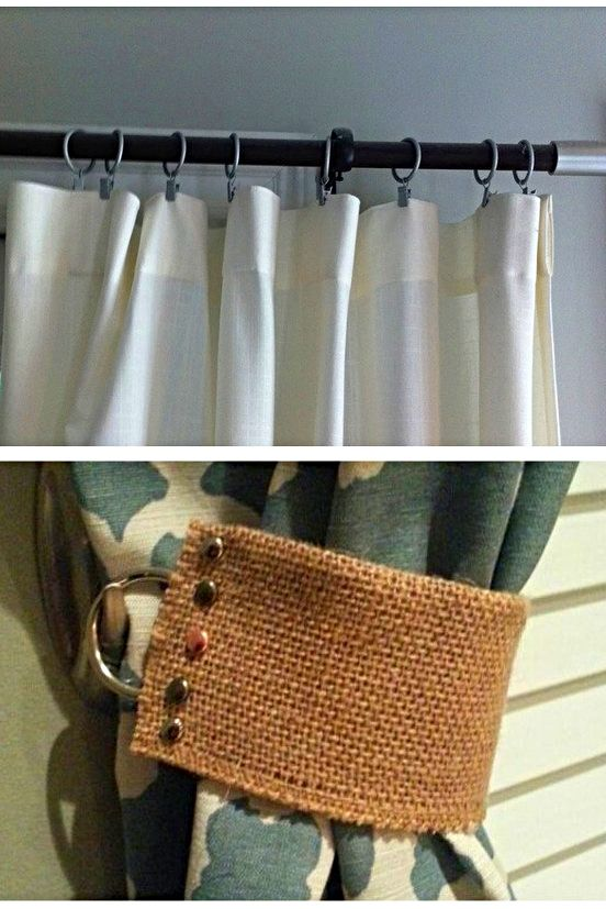 Curtains With Hooks In 2020 Hanging Curtain Rods Curtain Hooks