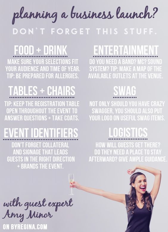 Events business plan