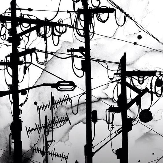 'Cable Cranes' by Nanami Cowdroy: