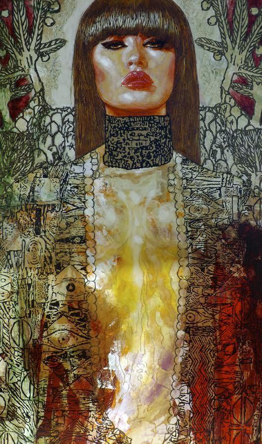Judith & Holofernes-IV 36x60: