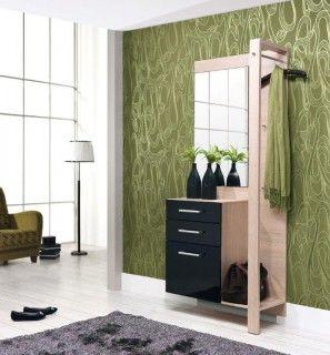 Moderní předsíňová stěna Loren se díky svým rozměrům hodí i do menších bytů. Kontrastní kombinace dekorů a praktické členění vám pomůže vytvořit příjemnou atmosféru už u vstupu domů.