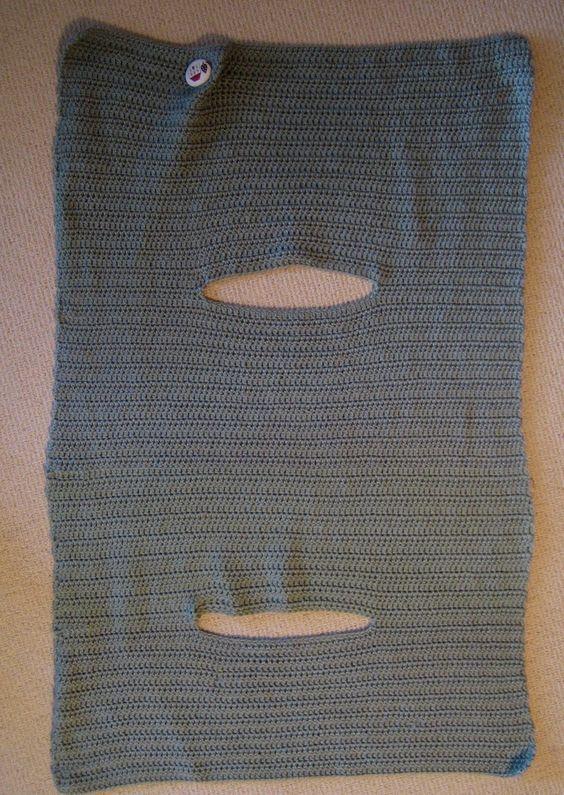 Instructions for Crochet Wrap Vest