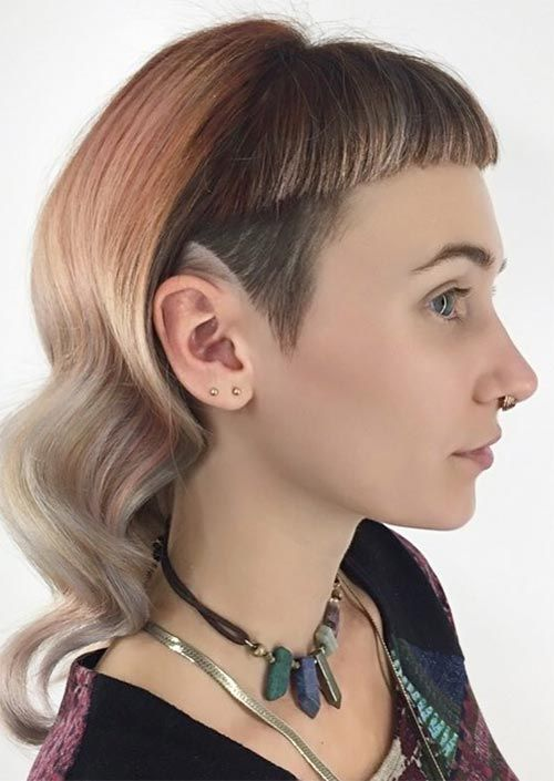 51 Long Undercut Hairstyles For Women A Diy Way To Undercut Your