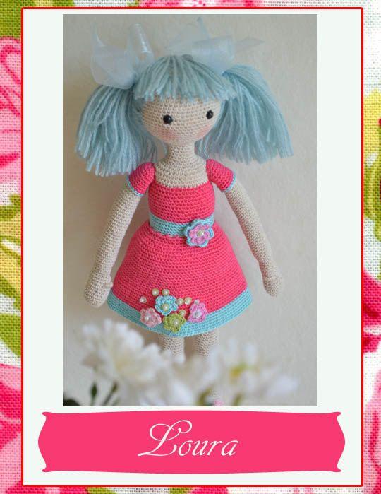 Collectible doll, Elegant crochet doll, child friendly amigurumi doll