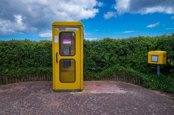 Schönberger Strand - Telefonzelle