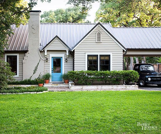 Best Ranch Style Home Ideas The Roof Turquoise And Doors 400 x 300