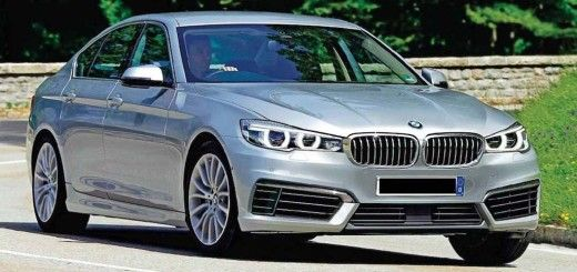 2016 BMW 535 Front