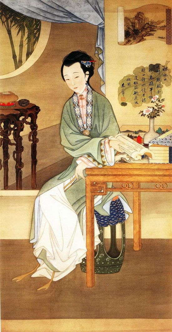 Qing dynasty, Chinese painting and Chinese on Pinterest