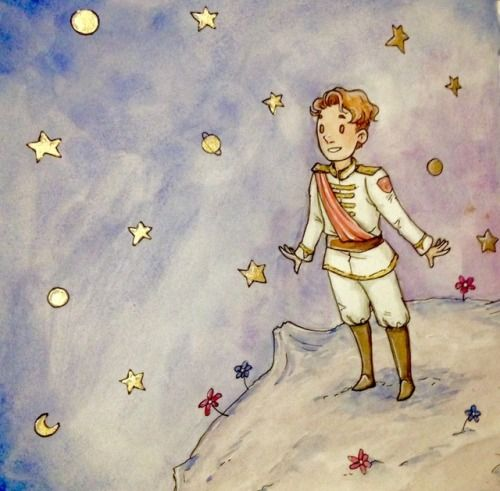 Dream Big My Little Prince One Day You Ll Land Among The Stars And You Ll Be The Brightest One Of All The Little Prince Thomas Sanders Sander Sides