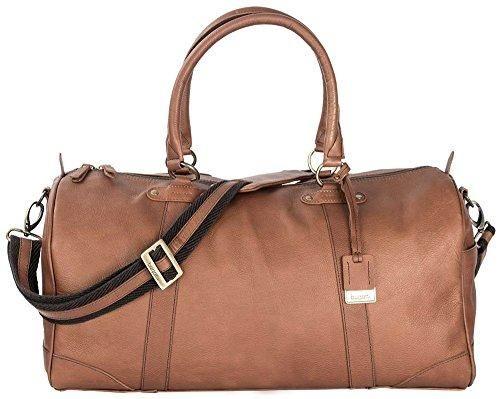 Bugatti Perreira Duffle Bag Leather Brown Leather Duffel Bag Duffle Bag Leather Duffel